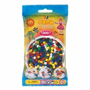 Hama - 1000 Beads in Bag (Solid Mix)