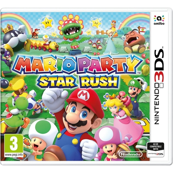 Mario Party Star Rush 3DS - Image 1