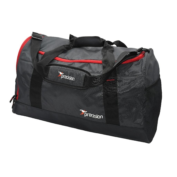 Precision Pro HX Medium Holdall Bag  Charcoal Black/Red