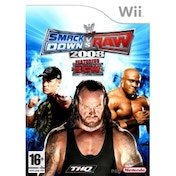 WWE Smackdown vs Raw 2008 Game Wii
