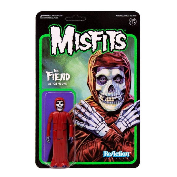 Misfits ReAction Action Figure The Fiend Crimson Red 10 cm
