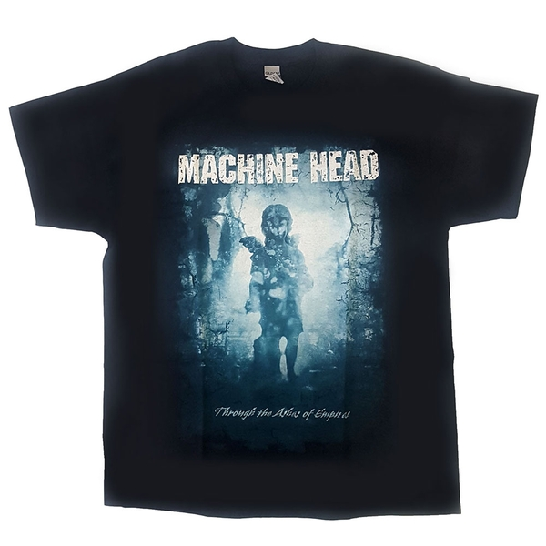 Machine Head - Through The Ashes of Empires Unisex Large T-Shirt - Black