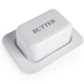 Butter Dish with Lid M&W White - Image 5