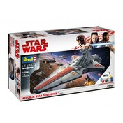 Ex-Display Republic Star Destroyer (Star Wars) 1:2700 Scale Level 3 Revell Model Kit Used - Like New