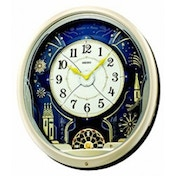 Seiko QXM239S Melody in Motion Wall Clock