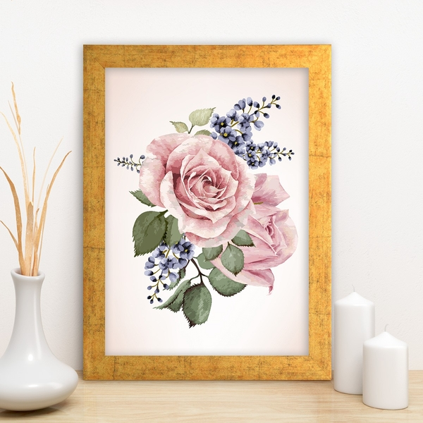 AC2766714501 Multicolor Decorative Framed MDF Painting