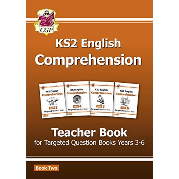 New KS2 English Targeted Comprehension: Teacher Book 2, Years 3-6 by CGP Books (Paperback, 2016)