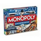 Ex-Display Monopoly Manchester Board Game Used - Like New