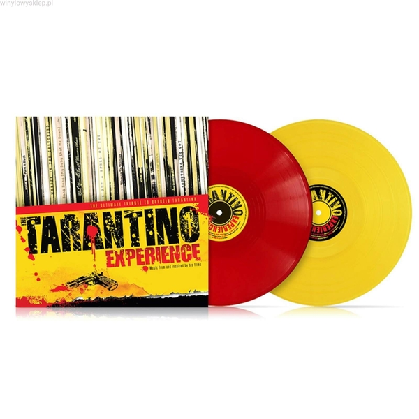 The Tarantino Experience Limited Edition Red & Yellow Vinyl