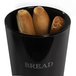 Bread Bin Crock Storage Canister Jar | M&W Black - Image 4