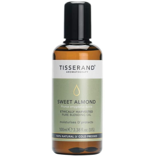 Tisserand Aromatherapy Sweet Almond Ethically Harvested Oil 100ml - Image 1
