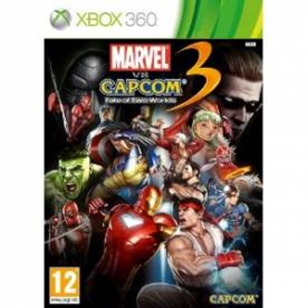 Marvel vs Capcom 3 Fate Of Two Worlds Game Xbox 360