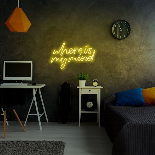 Where Is My Mind - Yellow Yellow Wall Lamp