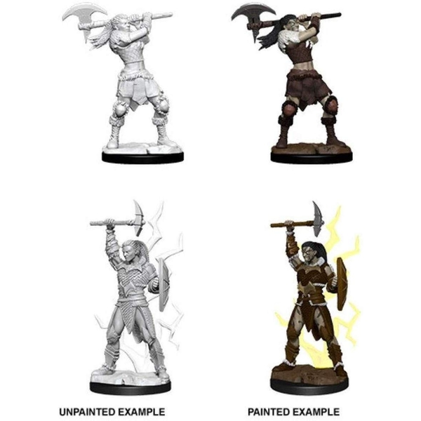 Dungeons & Dragons Nolzur's Marvelous Unpainted Miniatures (W10) Female Goliath Barbarian