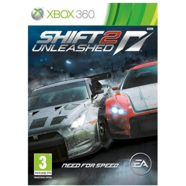 Need For Speed NFS Shift 2 Unleashed Game Xbox 360