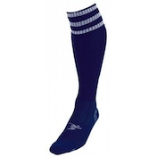 PT 3 Stripe Pro Football Socks Mens Navy/White