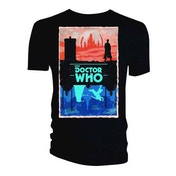 Doctor Who - Gallifrey/Skaro (Frame) Women's X-Large T-Shirt - Black
