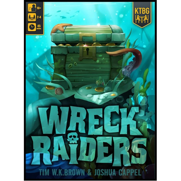 Wreck Raiders Board Game