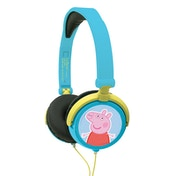 Lexibook HP015PP Peppa Pig Foldable Stereo Headphones with Volume Limiter