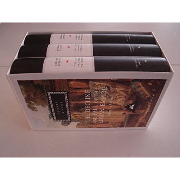 Decline And Fall Of The Roman Empire: Vols 1-3 by Edward Gibbon (Hardback, 1993)
