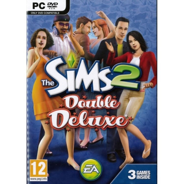 The Sims 2 Double Deluxe Game PC [Used]