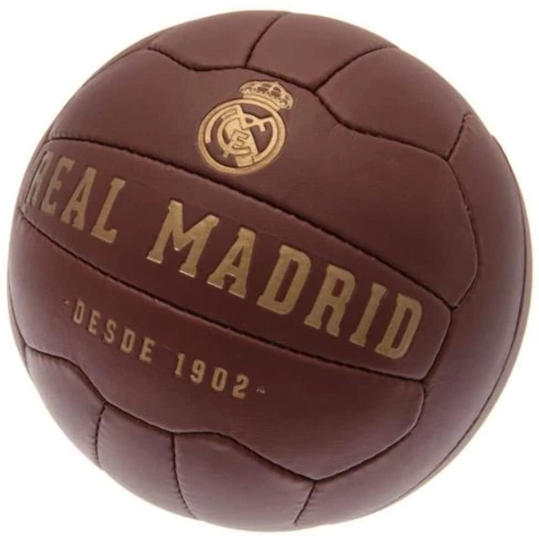 Real Madrid FC Faux Leather Football Size 5