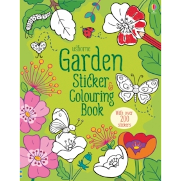 Garden Sticker and Colouring Book by Felicity Brooks (Paperback, 2016)