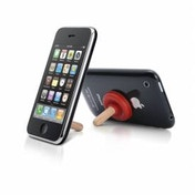 iPlunger - Mini Stand for iPhone & iPods - RED