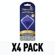 New Car 3D (Pack Of 4) Diamond Air Freshener