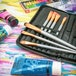 15 Piece Artists Paint Brush Set & Case | Pukkr - Image 7
