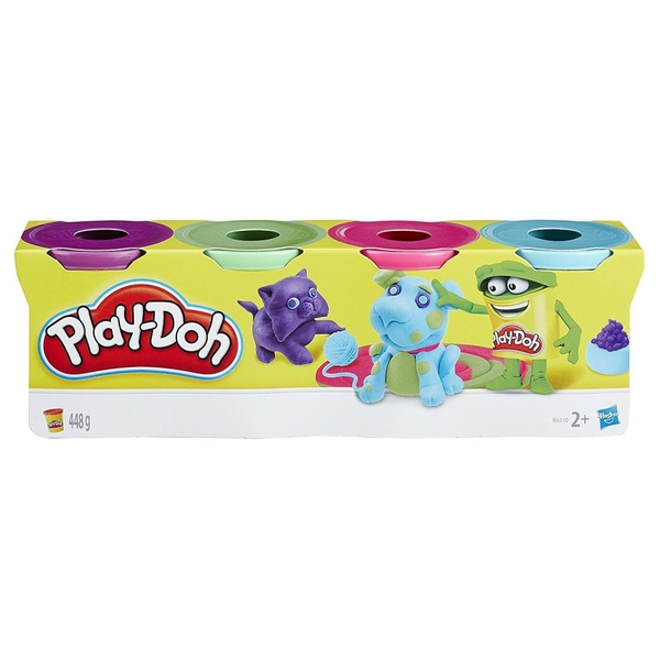 Play Doh - Classic Colours - Pack Of 4 Assorted Colours