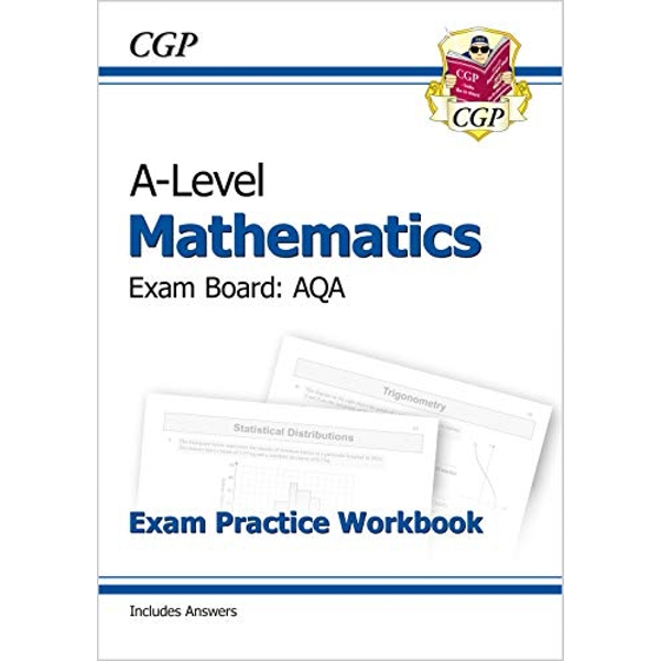 New A-Level Maths for AQA: Year 1 & 2 Exam Practice Workbook by CGP Books (Paperback, 2017)