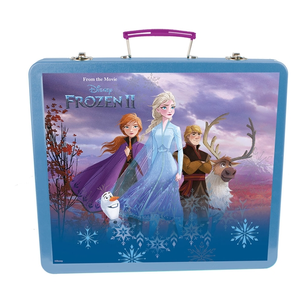 Disney - Frozen II Art Tin Case Creative Accessories Kit (Turquoise)
