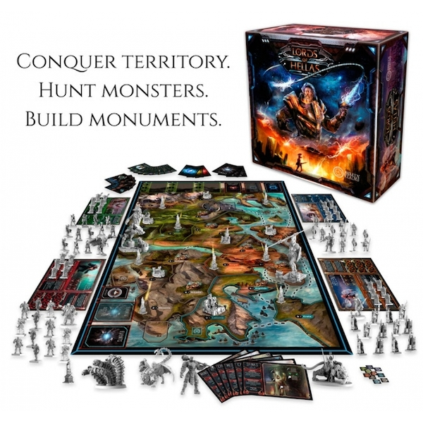 Lords of Hellas Board Game - Image 2