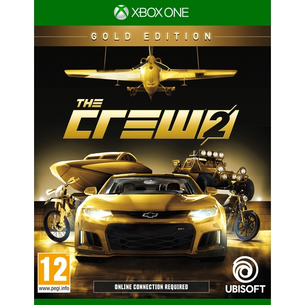 Image of The Crew 2 Gold Edition Xbox One Game [Used]
