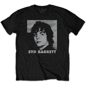 Syd Barrett - Headshot Men's Large T-Shirt - Black