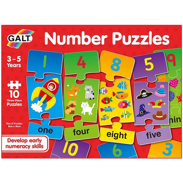 Number Learning Puzzles