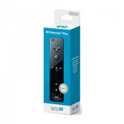 Official Nintendo Wii Remote Plus Control In Black Wii U