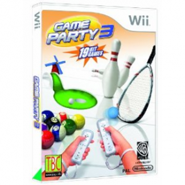 Games Party 3 Game Wii