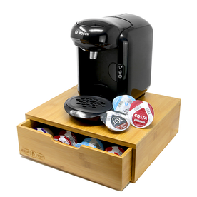 Bamboo Tassimo Pod Holder Drawer | M&W