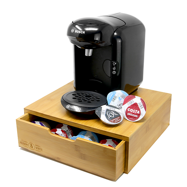 Bamboo 64 Coffee Pod Drawer | M&W