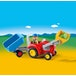 Playmobil 1.2.3 Tractor with Trailer - Image 2