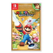 Mario + Rabbids Kingdom Battle Gold Edition Nintendo Switch Game