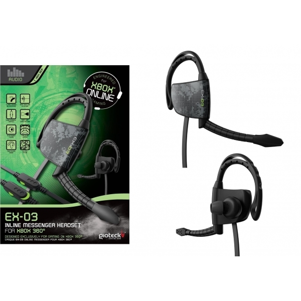 Gioteck EX-03 Wired Headset Xbox 360 - Image 1