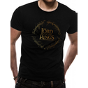 Lord Of The Rings - Gold Foil Logo Men