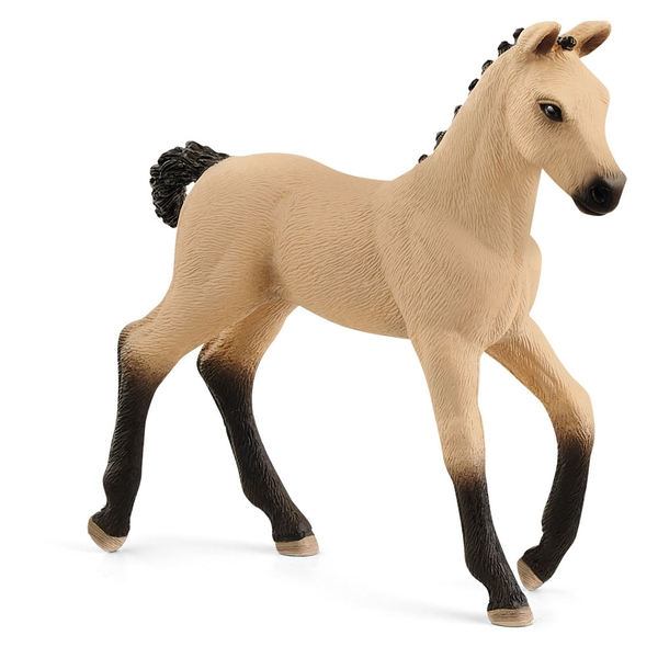 SCHLEICH Horse Club Hannoverian Foal Red Dun Toy Figure