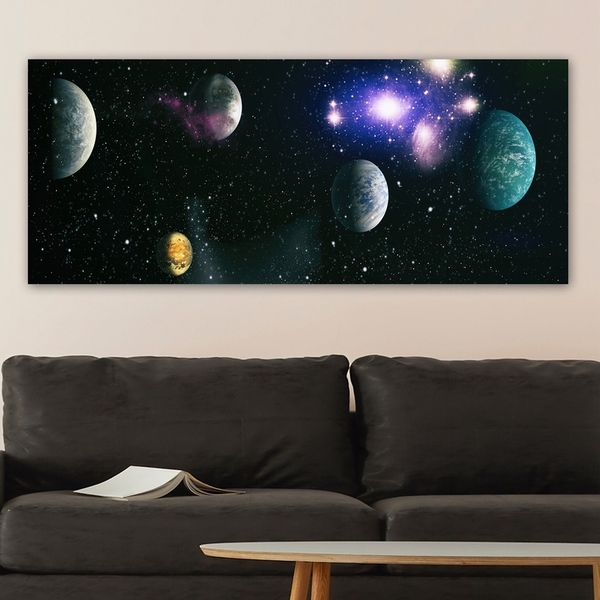 YTY1031543241123_50120 Multicolor Decorative Canvas Painting