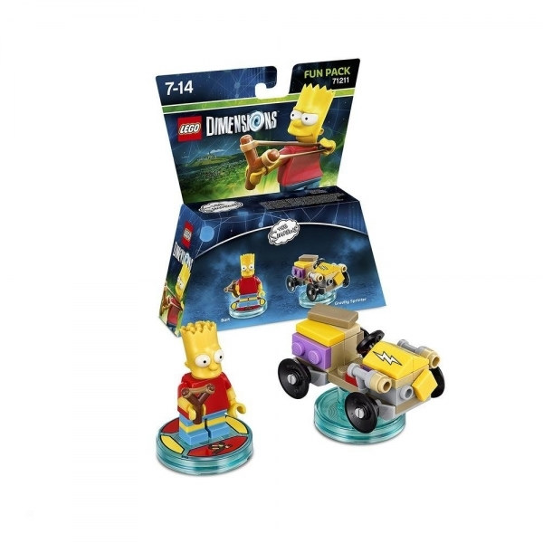 Bart (The Simpsons) Lego Dimensions Fun Pack - Image 1