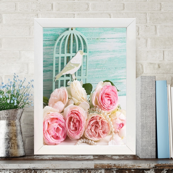 BC3035083346 Multicolor Decorative Framed MDF Painting