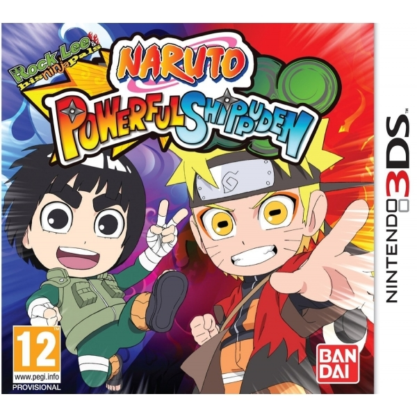 Naruto Powerful Shippuden Game 3DS